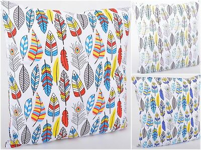 100%Cotton Cushion Cover Pillow Cases Home Family Sofa Fashion Decor Feathers