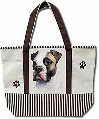 American Bulldog Pet Shopping Tote