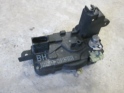 2006 Opel Tigra Cabriolet Drivers Side Door Lock Catch 93162843 BH