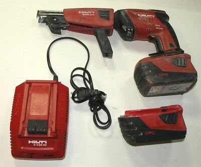 Hilti Sd4500-A18 Cordless Drywall Driver Screwdriver With Smd50 Screw Magazine