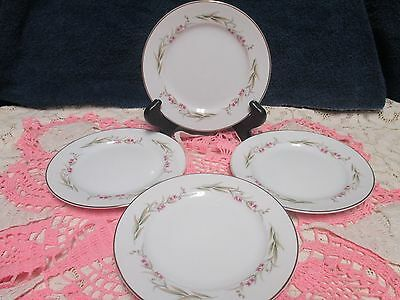 Fine China of Japan Prestige Bread and Butter Plate Set of 4
