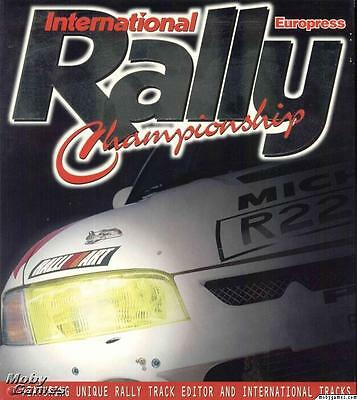 INTERNATIONAL RALLY CHAMPIONSHIPS ~ still sealed! ~    VINTAGE SOFTWARE