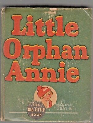 Big Little Book #1162 Little Orphan Annie And Punjab the wiizard 1935 432p...fn+