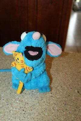Disney Tutter Mouse Bear In The Big Blue House With Kitty Cat Plush
