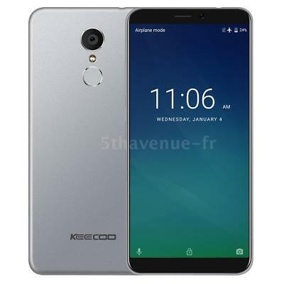KEECOO P11 4G Smartphone Face ID 2Go+16Go Quad Core 8MP+5MP Android 7.0 K7Q3