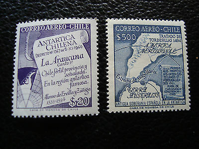 chile - stamp yvert and tellier air n° 176 177 n (C5) stamp chile