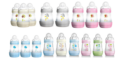 Mam 160ml Anti Colic Bottle 2 or 3 Pack
