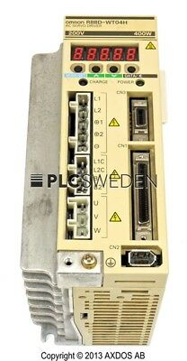 Omron R88D-WT04H, Used, R88DWT04H, Fast Shipping