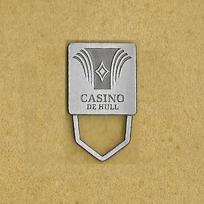 Casino De Hull Lac-Leamy Gatineau Quebec Canada Official Old Pin