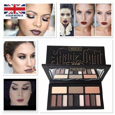 Kat Von D UK Shade and Light Face Contour Palette Cocoa Contour Medium Too Faced