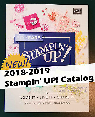 Stampin' Up! 2018-2019 Annual Catalog NEW papercrafting supplies / ideas!