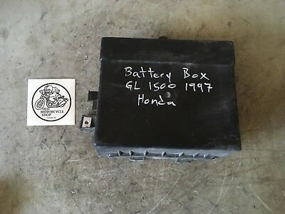 1997 Honda Gl1500 Battery Box / Tray 50320-Mn5-0100
