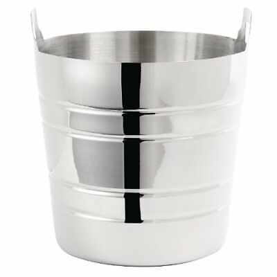 Stainless Steel Wine Bucket 190X204mm Champagne Beer Bowl Ice Cooler Restaurant