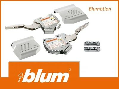2x Blum Aventos HK-S 20KC00 400*1000 Lift System Blumotion Soft Close Grey