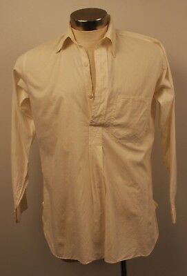SMALL,ORIGINAL VINTAGE 1940s / 50s MENS LONG SLEEVE SHIRT. AS IS