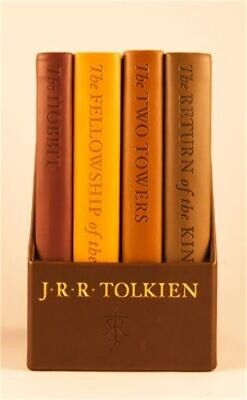 The Hobbit and the Lord of the Rings: Deluxe Pocket Boxed Set (Leather / Fine Bi