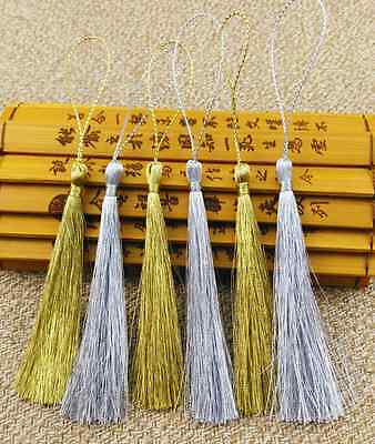 Gold and silver tassel Bookmark tassels Jewelry Accessories Handicrafts DIY