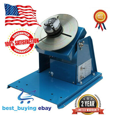 3 Jaw Lathe Chuck 2-20RPM Rotary Welding Welder Positioner Turntable 10KG 110V