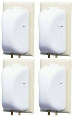 Safety 1st Plug Outlet Covers 4 Pack Child Resistant Double Touch Easy Release