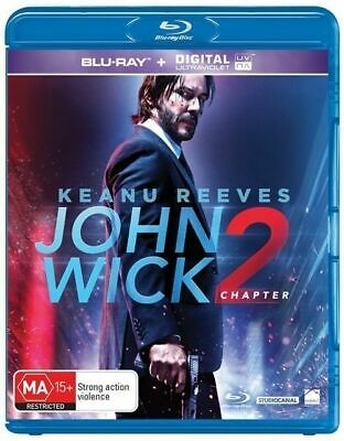 John Wick: Chapter Two  Blu-Ray Region B