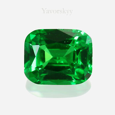 Vivid Green TSAVORITE Garnet Natural Yavorskyy-cut 0.06 ct