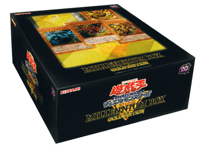 Yu-Gi-Oh Duel Monsters MILLENNIUM BOX GOLD EDITION Japan F/S