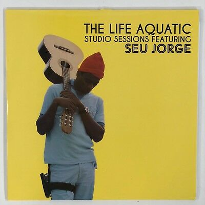 "Seu Jorge - The Life Aquatic: Studio Sessions [2LP] Limited 12"" Vinyl Record"
