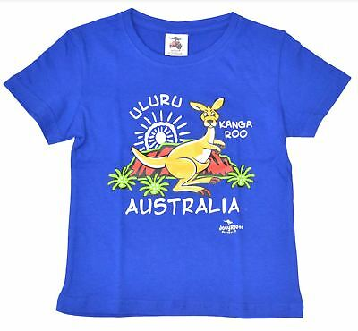Children Unisex Australian Kangaroo T-Shirt Clothing Souvenir Cotton Aussie gift