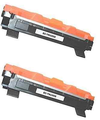 2 Toner Compatibili per Brother TN1050 HL1110 MFC1810 MFC1910 DCP1510 1512