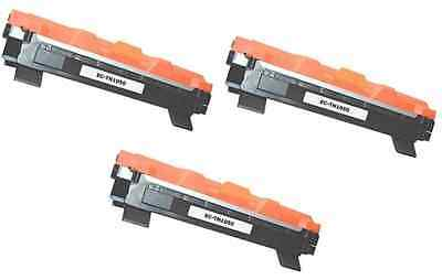 3 Toner Compatibili Brother TN1050 HL1110 MFC1810 MFC1910 DCP1510 1512 DCP1515