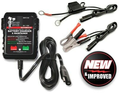 battery butler 12 volt tender trickle storage  charge Harley Davidson Olds Buick