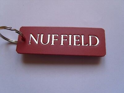Nuffield Tractor Keyring Fob For Vintage Or Antique