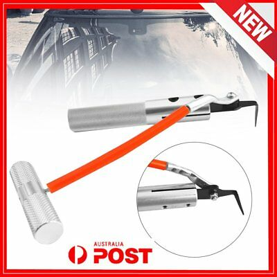 Car BUto Windshield Remover Window Glass Seal Kit Removal Repair Hand Tools BU