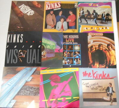 The Kinks -Sammlung 14 LP´s, 2 Textblatt, 1 Textinsert, 1 UK-Pressung