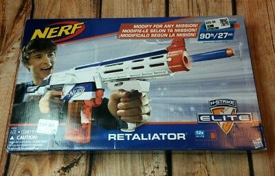 Nerf N-Strike Elite Retaliator Mega Series Blaster Kids Rifle Game Darts Toys