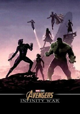Marvel Avengers Infinity War A4 Poster Odeon booking only! Hulk
