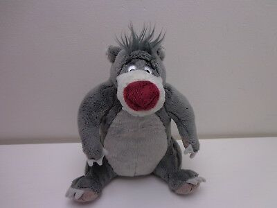Talking Baloo Bear Soft Toy - The Jungle Book