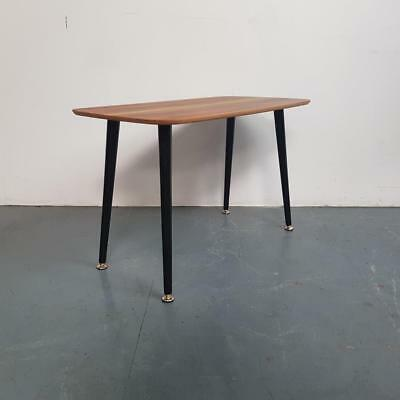 1950s ROSEWOOD COFFEE OCCASIONAL TABLE VINTAGE MIDCENTURY 60s #2353