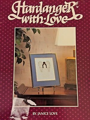 1986 Hardanger With Love Hardanger Embroidery Needlecraft Patterns 27 pgs