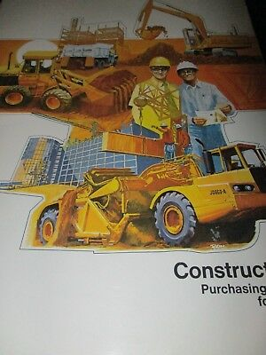 "John Deere ""Construction Purchasing Guide for 1974"" Sales Brochure"