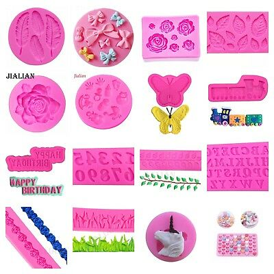 Silicone Mould Mold Cake Cupcake Baking Mold Sugar Craft Chocolate