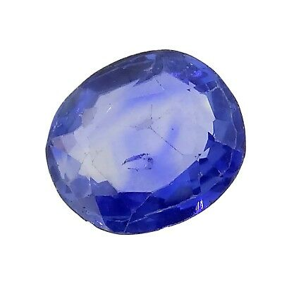 Antique Blue sapphire unheated 1.63ct Genuine Loose Gemstones NR