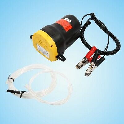 12V Diesel Oil Fluid Extractor Electric Transfer Pump Siphon Car/Motorcycle Fuel