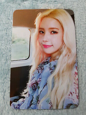 10)MAMAMOO 6nd mini Album Yellow Flower Starry Night Solar PhotoCard Offic K-POP