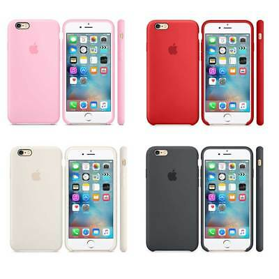 Genuine Official Soft Silicone Case Cover for Apple iPhone X 7/7 Plus/6/6S Boxed