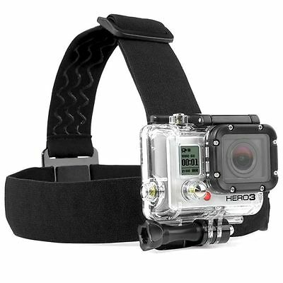 Adjustable Elastic Head Strap Mount Belt Harness Session For GoPro HERO 5/4/3+/3