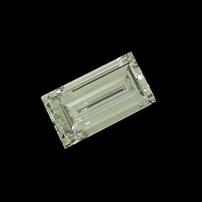 baguette cut natural diamond H VVS1 0.14ct Genuine Loose Diamonds NR