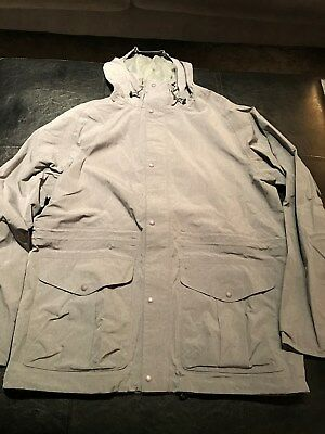 NWT $399 Barbour Mens  Mull Waterproof Breatheable Jacket Gray Medium
