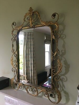 Gold Mirror - Vintage/Shabby Chic/Antique French Style - Metal