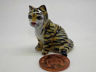 Dolls House Miniature Small Woven Tiger Tapestry tapxsr05